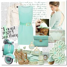 Tiffany blue.  I want the shoes.