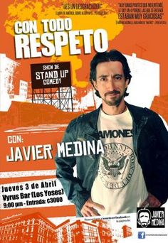 "NOCHE DE STAND UP COMEDY ""CON TODO RESPETO""http://www.desktopcostarica.com/eventos/2014/noche-de-stand-comedy-con-todo-respeto"
