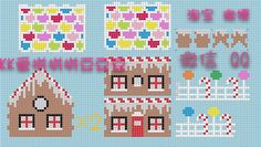 3d Pearler bead gingerbread house- Photo Tutorial Pony Bead Patterns, Pearler Bead Patterns, Box Patterns, Perler Patterns, Beading Patterns, Hama Beads 3d, 3d Perler Bead, Perler Bead Templates, Fuse Beads