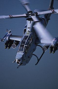 AH-1Z Viper of the USMC demonstrating a full anti-personnel, anti-tank and anti-aircraft loadout