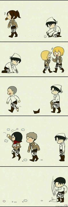 Ideas Memes Anime Attack On Titan Attack On Titan Comic, Attack On Titan Fanart, Attack On Titan Ships, Levi X Eren, Levi Ackerman, Otaku Anime, Manga Anime, Piskel Art, Rivamika