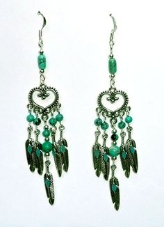 Genuine Turquoise Silver Southwestern Inspired by IslandGirl77, $22.99