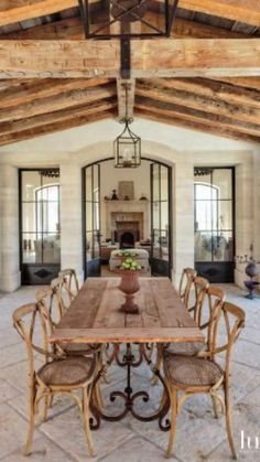 Rustic French, French Decor, French Country Decorating, Country French, Style At Home, Esstisch Design, Rustic Home Design, Rustic Decor, Rustic Outdoor