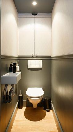 Design Parquet, Toilette Design, Downstairs Loo, Small Toilet, Paradis, Inspiration, Home, Bathrooms, House Ideas