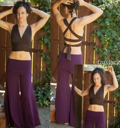 Convertible Wrap and Tie Bralette Gypsy Travelers par ElvenForest