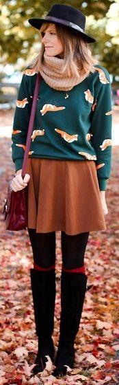 Kışlık Etek Kombinleri http://www.modapars.com/kislik-etek-kombinleri #moda…
