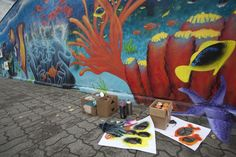 Street art- rafa koralowa