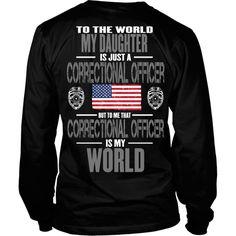 Daughter Correctional Officer (backside design)