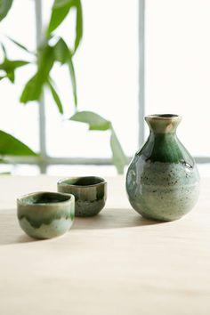 Ceramic Sake Set - Urban Outfitters