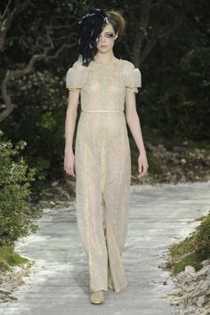 Bridal trends from Paris Couture: Sheer beauty at Chanel haute couture spring 2013