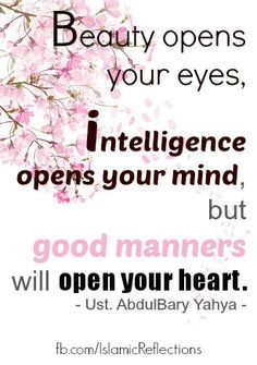 manners quotes | Quotes:) | Islamic Reflections