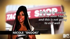 she's so funny, sad that there is no more jersey shore lol
