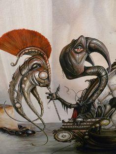 Greg Simkins paintings