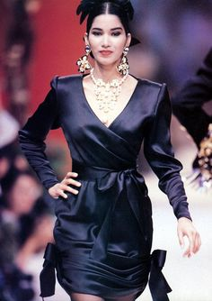 Christian Lacroix Haute Couture fall/winter 1990 , 90s Gurmit Kaur