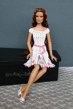 Crocheted dress for Jonquil... | or Cami, Antoinette... More… | Flickr