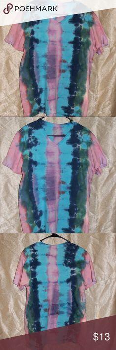 Tye Dye Shirt. Tye Dye Shirt.  Women Size Medium handmade Tops