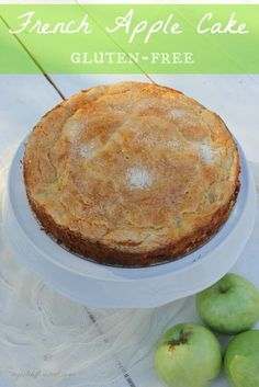Gluten-Free French Apple Cake | a girl defloured