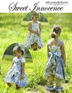 Sweet Innocence | Sewing Pattern | YouCanMakeThis.com