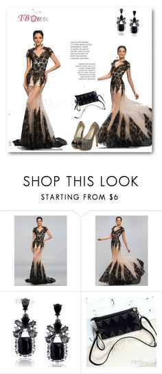"""TBDress 10"" by ajdin-lejla ❤ liked on Polyvore featuring moda, vintage, dress, clothes, women e tbdress"
