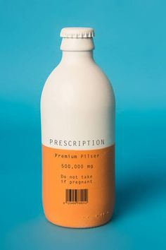 Prescription Pilser Beer Packaging...