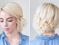 Hair How-To: Tucked Braid Updo - Inspired By This