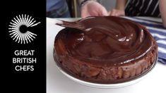 Marcus Wareing - How to make chocolate ganache How To Make Chocolate, Melting Chocolate, Marcus Wareing, Chef Work, Great British Chefs, Chocolate Ganache, Healthy Treats, Chocolate Recipes, Cake Decorating