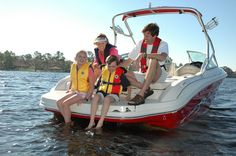 Is your whole family properly fitted with lifejackets? #boatingsafety