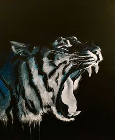 Buy Black Tiger, Acrylic painting by Paul Hardern on Artfinder. Discover thousands of other original paintings, prints, sculptures and photography from independent artists.