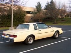 1986 Buick Regal T Type Yellow Beige With Tops 1 Of 30 Made Buick Regal Buick 1987 Buick Grand National