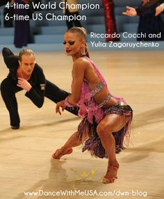 Riccardo and Yulia teach at Dance With Me Studios! - Dance With Me