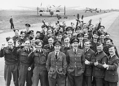 """617 Squadron, RAF, """"The Dambusters"""" was a single squadron formed during the Second World War to carry out a single special and dangerous task. That operation """"Chastise"""" has since become a legend in the annals of military history and it possess all the traditionally admired military attributes of originality, surprise and heroism coupled with a very dramatic outcome. Operation Chastise has in many ways overshadowed the later exploits of the men who formed the squadron. #aviationpilotuniform"""