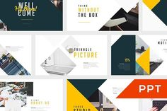 Tahes PowerPoint Template by Angkalimabelas on @creativemarket