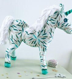 Art Gallery Fabric Unicorn Toy