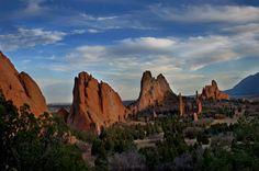 Garden of the gods Colorado Springs CO