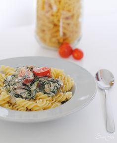 Spinat Gorgonzola Pasta