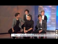 One Direction on The Today Show (part 4 of 4) (11/13/12) (HD)