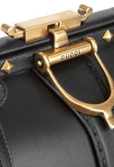 Gucci Lady Stirrup studded doctor-bag