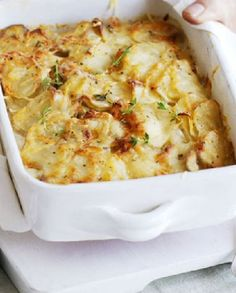 Low FODMAP Vegetarian Recipe and Gluten Free Recipe -  Dauphinoise potatoes   http://www.ibscuro.com/low_fodmap_vegetarian_recipes_dauphinoise_potatoes.html