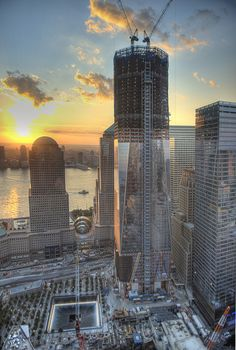 One World Trade by Tony Shi., via Flickr