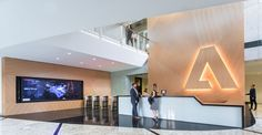Adobe's Newly Renovated Headquarters - San Jose - Office Snapshots