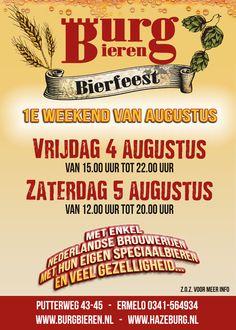 Burg Bieren Bierfeest 2017