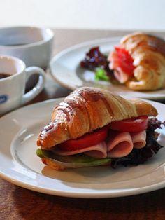 Croissant Sandwich::