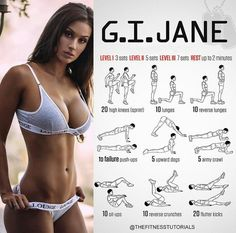 Gi Jane Workout | Posted By: NewHowToLoseBellyFat.com