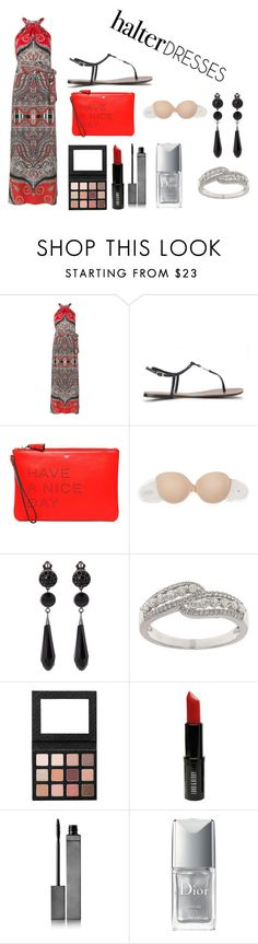 """halter dress"" by sveta93 on Polyvore featuring moda, Etro, Lauren Ralph Lauren, Anya Hindmarch, Fashion Forms, Givenchy, Lord & Taylor, Lord & Berry, Burberry e Christian Dior"