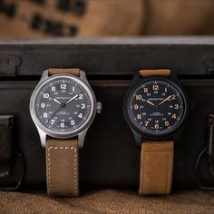 For over 100 years, Hamilton provided thousands of watches for the military. Today, we draw on that experience to create field watches for modern life. With a combination of lightweight functionality and military style, the Khaki Field Titanium Automatic is ready for action.