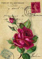 Vintage Postcard Images from DigitalCollageSheets.com