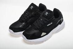 sale retailer 5c327 f958b Adidas Falcon W BB9175 YUNG-2 Black White Shoes6 Sneakers Nike, Black White,