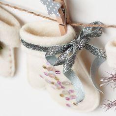 Adorable Christmas stocking ornament from @nanaCompany