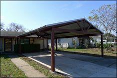 metal carport | Free Standing Steel Carport - Kirby Job ...