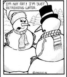 Snow couple  arguing.